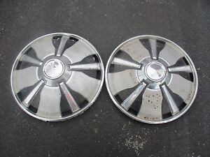 1972 Toyota Corona 14 Inch Factory Hubcaps Wheel Covers