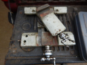 Older Metal Lathe Carriage Saddle And Tool Slide Assembly M119 Casting