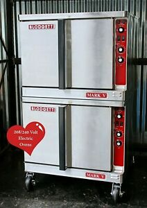Blodgett Double Mark V Electric Commercial Convection Oven Bakery Pizza School
