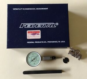 Federal T 101 Testmaster Precision Jeweled Dial Test Indicator 001 Fast Ship 2