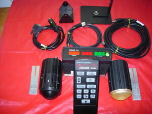 Stalker Dual Police Radar With Dual Ka Antennas cables And Remote late Model