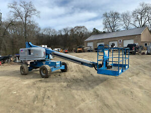 2006 Genie S40 4x4 Diesel 40 Telescopic Boom Lift Manlift
