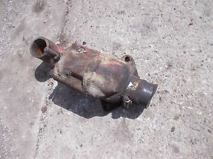 International 300 Utility Tractor Ih Engine Motor Top Thermostat Holder Bracket