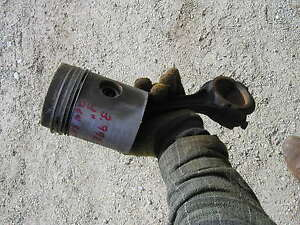 Farmall Smta Mta Sm Tractor 4 Motor Engine Piston Rods For 264 Cid Engine