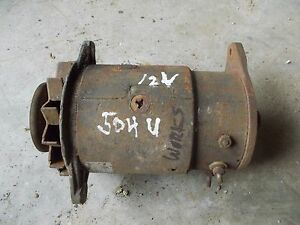 Farmall 504 Utility 504u Tractor Good Working 12v Generator W Belt Pulley