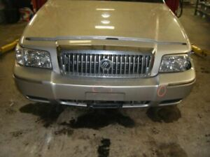 Driver Front Seat Bench Split Cloth Electric Fits 06 08 Crown Victoria 378824