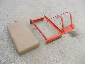 Allis Chalmers B Tractor Orgnal Ac Deluxe Seat Assembly Cushion