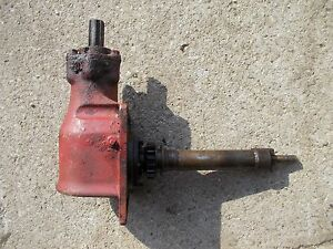 1939 Farmall A Tractor Ih Belt Pulley Assembly Input Shaft 1st Year Tractor