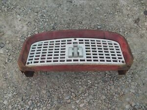 Farmall Ih 560 460 Tractor Front Nose Cone Grill Bonnet Screen