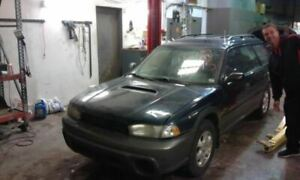Manual Transmission Outback Fits 98 Legacy 38145