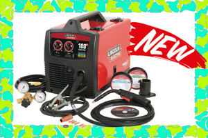New Lincoln Electric Weld Pak 180 Hd Mig Wire Feed Welder With Magnum 100l Gun