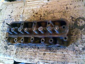 Farmall Ih 504 Utility Tractor Gas Engine Motor 4 Cylinder Head