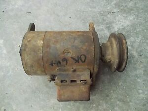 Farmall Ih H Hv Erl Sh 04 Tractor Good Working 6v Generator Belt Pulley Regula