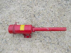 Farmall Ih C Tractor Oil Bath Precleaner Assembly Repainted
