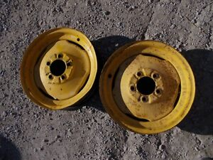 Massey Harris 44 Tractor Mh 16 X 4 Press Style Front Rims