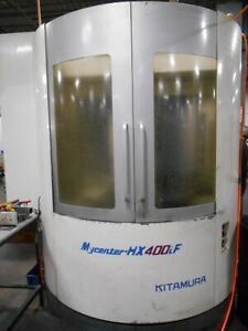 Used Kitamura Hx 400if Cnc Horizontal Mill 2005 5 axis Fanuc 16 Pallet 13k Rpm