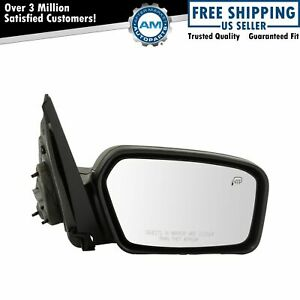 Mirror Power Heated Puddle Textured Black Passenger Right Rh For 06 10 Focus New