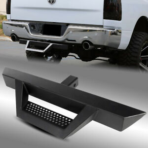 31 3 Tube Black Trailer Dropping Style Hitch Step For Class Iii 2 Receiver