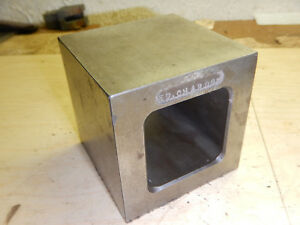 Older Small Box Parallel Machinist Tooling Jig Fixture