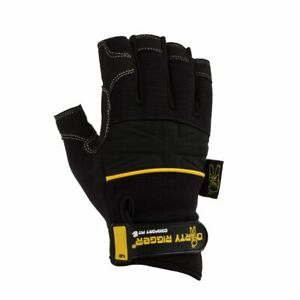 Dirty Rigger Comfort Fit Fingerless Work Gloves Uk Stage Lighting Theater