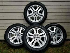 Four 17 Ford Mustang Gt Wheels 2006 2009 Factory Oem Rims Used With Center Caps