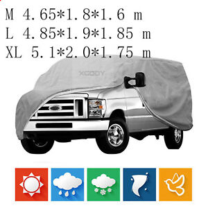 M Xl Waterproof Full Car Cover For Suv Van Truck In Outdoor Dust Ray Rain Snow