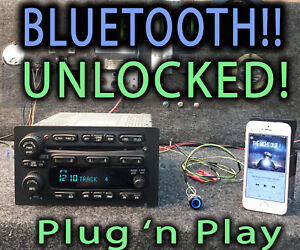 Gmc Chevy Truck 03 05 Radio Stereo 6 Disc Cd Upgraded W Bluetooth Music 15196055