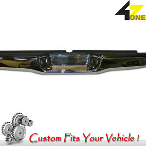 Perfect Match Rear Bumper Fits Tacoma 1995 2004 Gtca12673 Chrome With Black Pad
