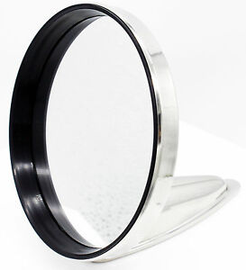 Durant Side View Mirror Polished Stainless Steel 120mm 911 912