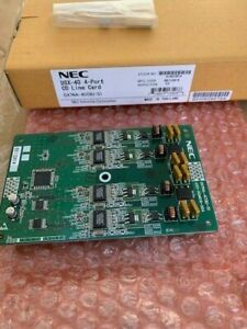 New Nec Dsx 40 1091001 Dx7na 4coiu s1 4 Port Analog Trunk Co Line Card