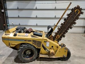 Tr200 Vermeer Trencher 6 Wide Dirt Chain 48 Bar Kohler Ditch Witch Case