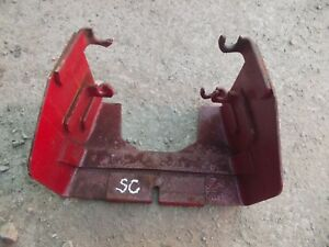 Farmall Super C Rowcrop Tractor Ih Pto Take Off Shield Modified 4 Tab To 2 Tab