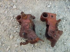 Allis Chalmers Wd Wd45 45 Latem Tractor Ac Snap Coupler 2 Hands Couple Rockshaft