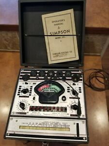 Simpson Model 305 Vacuum Tube Tester