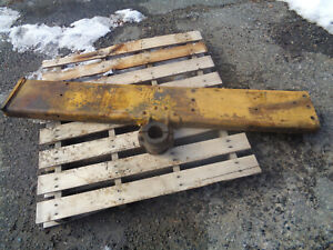 John Deere 1010 Crawler Dozer Right Side Frame With Mounting Bracket