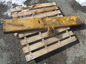 John Deere 1010 Crawler Dozer Left Side Frame With Mounting Bracket Rubbers
