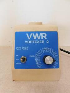 Vwr Scientific Industries Vortexer 2 Vortex Mixer G 560 No Top E