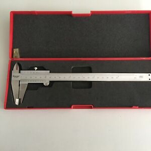 Starrett No 125mea Vernier Caliper case 8 200mm
