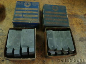 2 Sets Of 2 1 2 Geometric Die Head Chasers For 1 1 2 8 Threads
