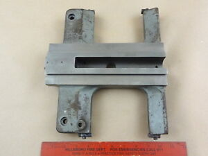 Very Nice Atlas Craftsman Commercial 12 Lathe Saddle Cast Wipers Part 719 001
