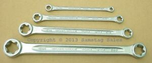 Stahlwille Germany 21tx 4 Female Torx Wrenches E6 To E24 No Offset Flat Wrench