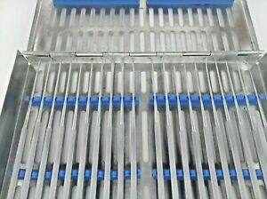 Rhoton Micro Dissector Expanded 20 Pcs Set Stainless Steel In Steel Case