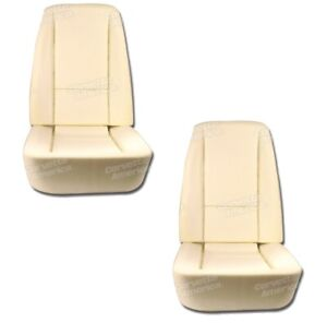 1968 1969 C3 Corvette New Seat Foam Bottom And Back Four Piece Set