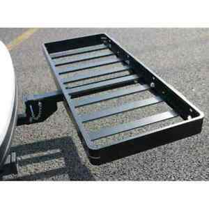 50 X 20 Aluminum Black Roof Rack Extension Cargo Luggage Hold Carrier Basket