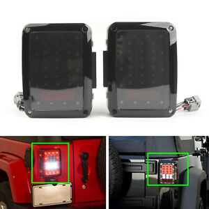 Tail Lights Reverse Rear Led Lamps Fit Jeep Wrangler Jk 2007 2017 Us Version Tt
