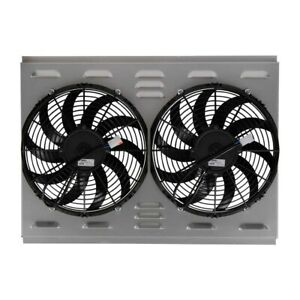 Northern Radiator Dual Electrical Fans With Aluminum Shroud 1971 1973 Mustang