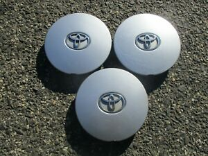 Lot Of 3 1992 To 1996 Toyota Camry 6 Cylinder Alloy Wheel Center Caps Hubcaps