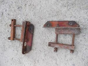 Farmall M Sm Mta 400 350 460 Tractor Pair Ih Drawbar Draw Bar Axle Brackets