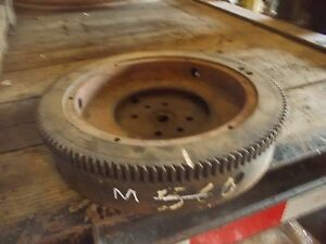 Farmall M Early Sm Rowcrop Tractor Original Ih Flywheel Starter Ring Gear