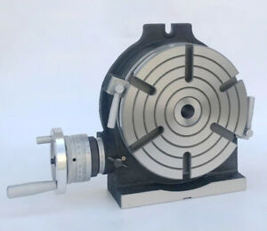 Rotary Table Horizontal Vertical 6 Hv 6 150mm Mechanical Rotary Table